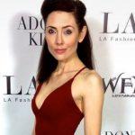 Adrienne Attends LA Fashion Week with LA Fashion Showcase 14 October 2017