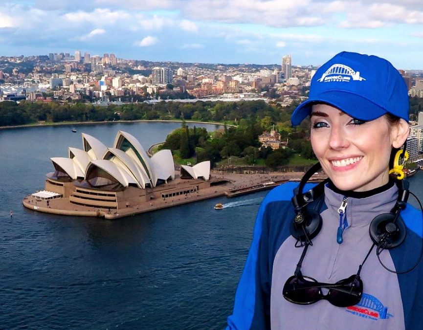 Flashback to Adrienne in Sydney in 2017
