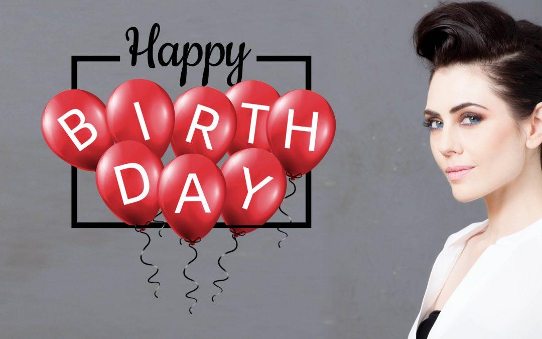 Happy Birthday Adrienne!