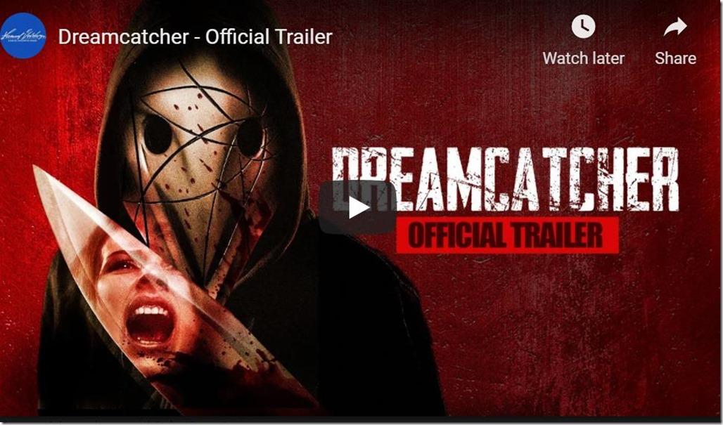 Adrienne's movie Dreamcatcher Released TODAY!