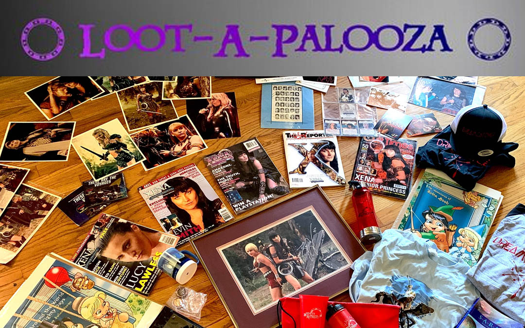 Message from Adrienne About Loot-a-Palooza!